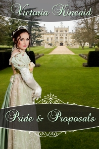 Jane Austen variation, Jane Austen fan fiction, Jane Austen, Pride and Proposals, Victoria Kincaid, historical fiction, historical romance, historical novel
