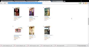 Regency Romance Bestsellers 8-11-15