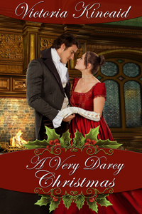 Pride and Prejudice variation, Jane Austen variation, Jane Austen fan fiction, Jane Austen, historical romance, historical fiction, A Very Darcy Christmas, Victoria Kincaid, Pride and Prejudice