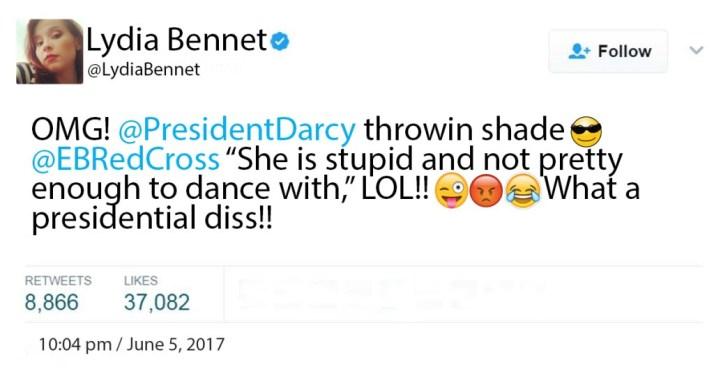 Lydia-Bennet-Tweet